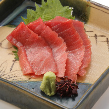 Fatty bluefin tuna sashimi