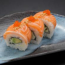 Sushi roll platter
