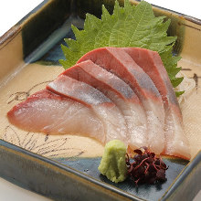 Yellowtail sashimi