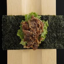 究極 ねぎとろ手巻き Ultimate Minced Tuna Hand Roll-Itamae style-