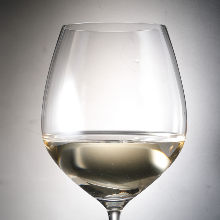 White wine per glass