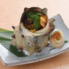 Extra Large Turban Shell Grilled in Its Shell