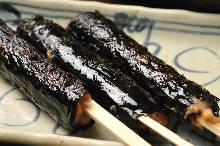 納豆巻焼き