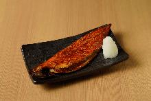 Mirin-marinated mackerel