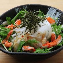 Daikon salad