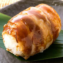 Rice ball with meat
