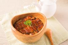 Eel rice bowl