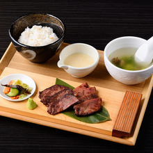 Grilled beef tongue