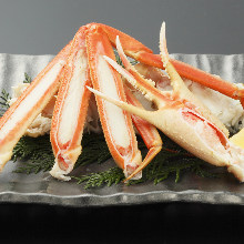 Snow crab sashimi
