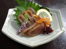 Squid Okizuke (pickles)
