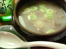 Seolleongtang soup