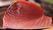 Fatty bluefin tuna sashimi