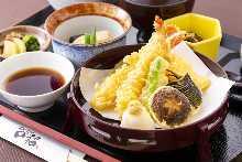 Tempura meal set