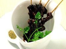 Loach kabayaki (sweet broil )