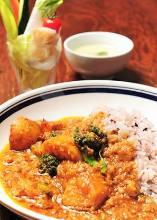 """""""Koji"""" (rice malt) curry"""