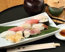 Assorted nigiri sushi, 10 kinds