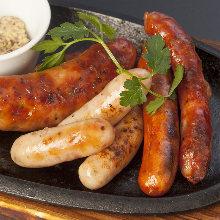 Wiener sausage Teppanyaki