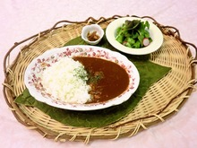 Curry with rice