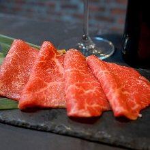 Aged beef steak