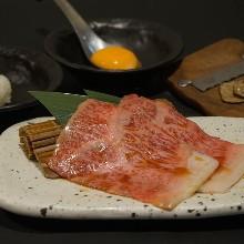 Wagyu beef yakisuki