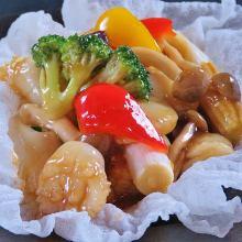 Oyster sauce stir-fry