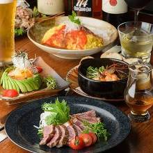 7,700 JPY Course (12 Items)