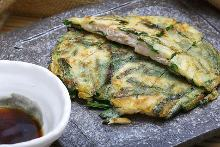 Garlic chives pajeon