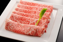 Wagyu beef shabu-shabu