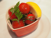 Cherry tomato pickles
