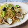 Clams & Spring Cabbage Pepperoncino – with anchovy flavors