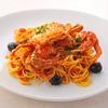 Blue Crab in Tomato Sauce