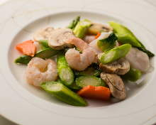Stir-fried Seafood