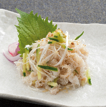 Edible raw white Senmai (third stomach)
