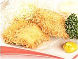 Deep-fried whitefish