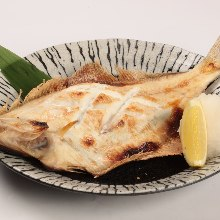 Grilled flounder