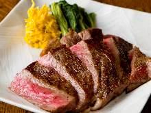 Wagyu beef steak