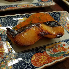 Grilled sablefish with Saikyo miso