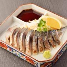 Seared marinated mackerel