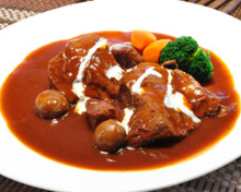 Beef tongue stew