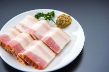 Seared bacon