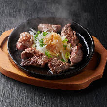 Bite size steak