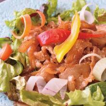 Stir-fried pork