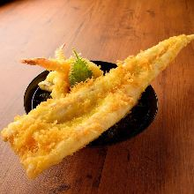 Conger eel tempura rice bowl