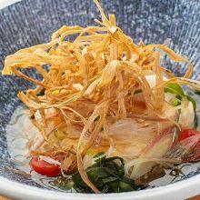 Salad (Oborodofu (half-curdled tofu),Burdock)