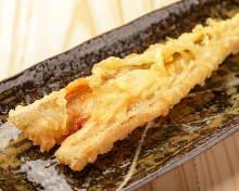 Deep-fried simmered conger eel