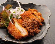 Chicken cutlet meal set
