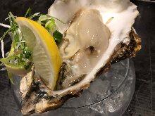 Vinegar-blended oysters