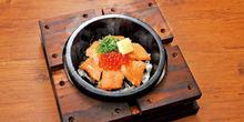 Hot stone rice bowl