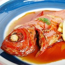 Stewed red snapper