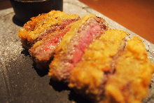 Wagyu beef fillet cutlet